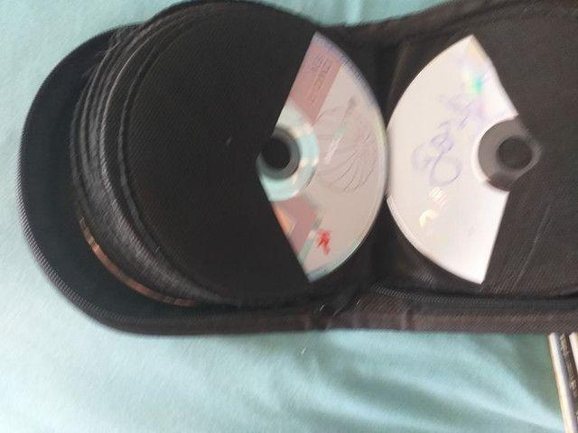 Vendo som e varias fitas, cds, lp - Foto 3