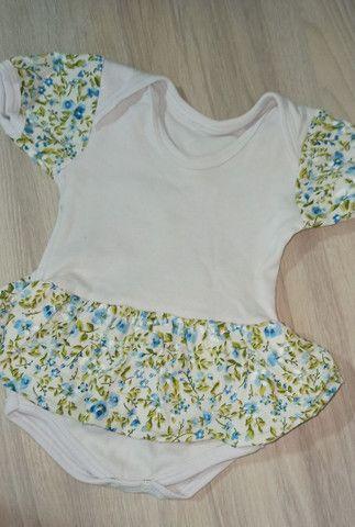 02 Vestidos body bebê menina - Foto 2