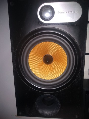 Caixas frontais bowers Wilkins 685 s2 - Foto 2