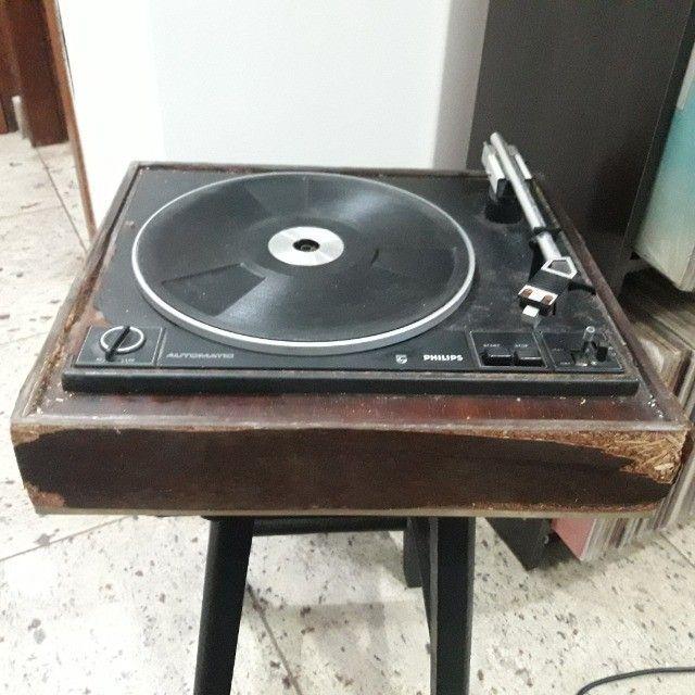 Toca Discos Vitrola Philips ñ Receiver Gradiente Marantz Sansui CCE Sony Akai Kenwood  - Foto 2