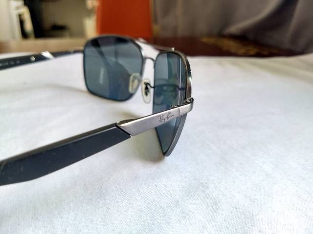 Ray Ban Polarizado original RB3531 041/81 64mm Lente Cinza Polarizado