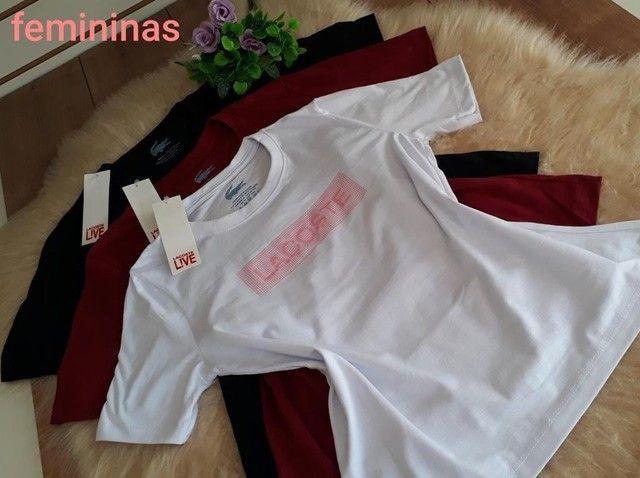 Camisas femininas  - Foto 6