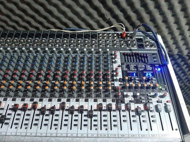 Mesa analogica eurodesk sx3242fx 32 canais  - Foto 3