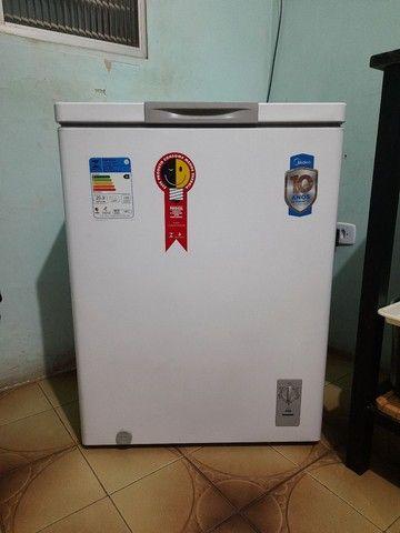 Freezer mídia 150L