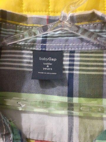 Camisa Infantil GAP original  - Foto 2