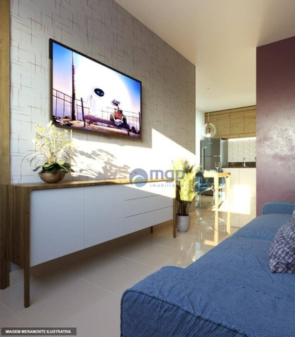Apartamento com 2 dormitórios à venda, 47 m² por R$ 279.000 - Vila Dom Pedro II - São Paul - Foto 6
