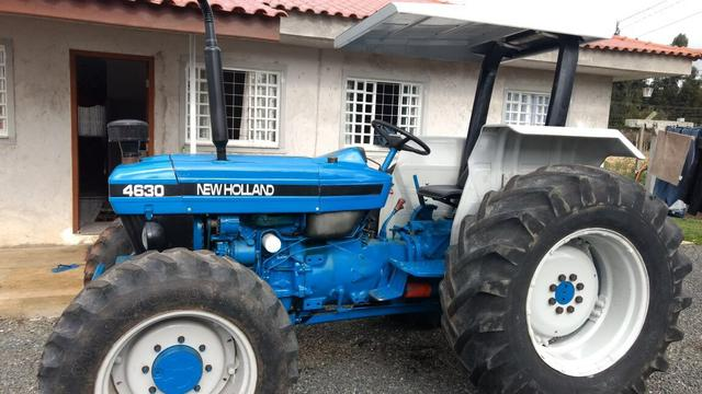 New Holland 4630 4x4 ano 2001