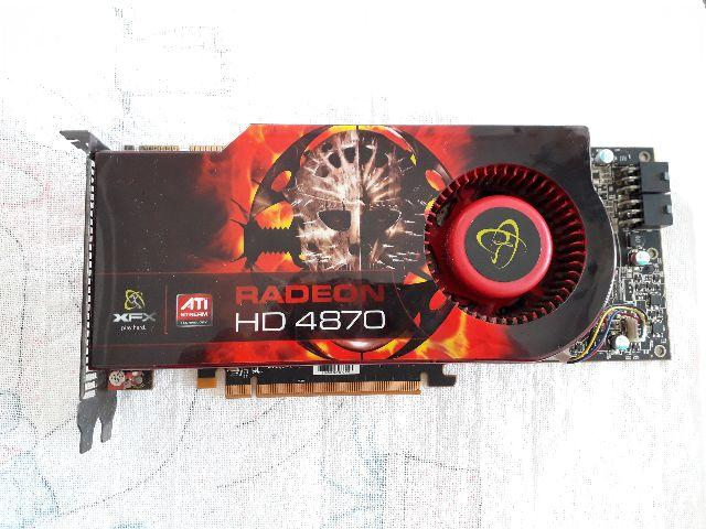 Placa de Video ATI Radeon HD 4870 1GB ddr5