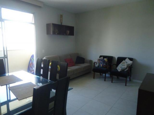 Apartamento 3 quartos, sala ampla com varanda e 1 vaga. - Foto 4