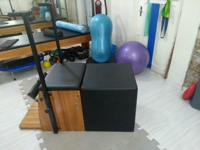 Aparelho de Pilates chair com caixa - Foto 4