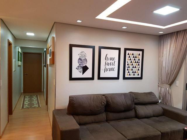 Res. Allegro 3 quartos 84m², varanda, 2 vagas subsolo, armários - Foto 2