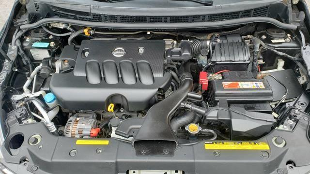 Nissan tiida sl 1.8 com teto 2008 leilao leia a descrição do anúncio - Foto 6