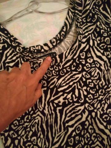 Vestido de malha, animal print - Foto 2