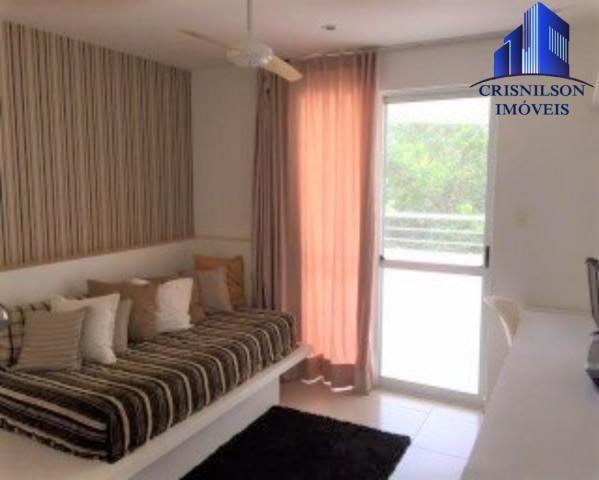Casa à venda condomínio alphaville i salvador, decorada, 4 suítes, r$ 2.500.000,00, piscin - Foto 15