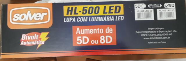 Lupa cim luz de led - Foto 3