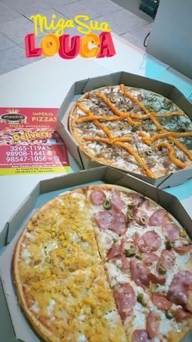 VENDO massas para pizza, bandeiras, queijo, e pizzas pronta por encomenda - Foto 3