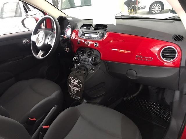 Fiat 500 Cult 1.4 Evo Flex 2015 38 mil km (Sport) - Foto 15