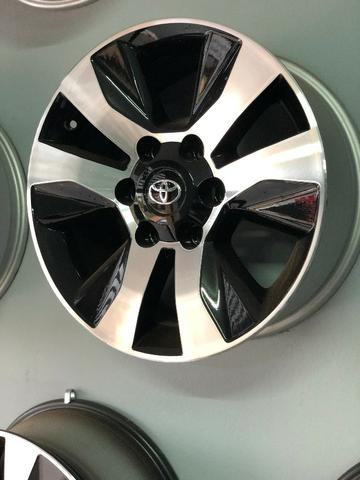Rodas Aro 17 Toyota Hilux Original SRV Black Diamond