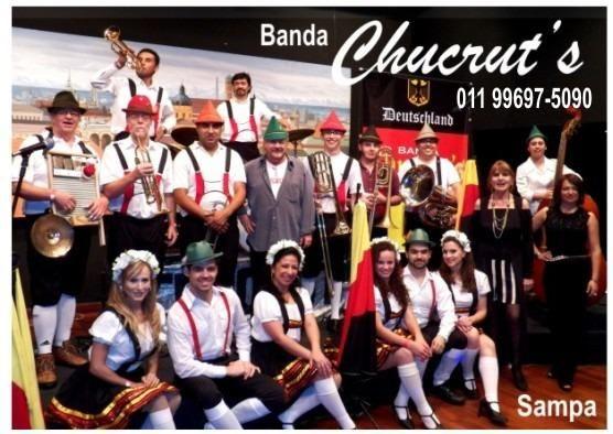 Banda alemã Chucrut's - * - São Paulo