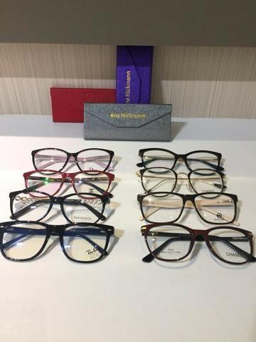 Armação Óculos de Grau diversas marcas e modelos - Bijouterias ... aa9d15e09a