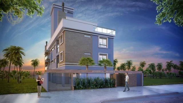 Apartamento com 1 dormitório à venda, 59 m² por R$ 275.000 - Ribeirão da Ilha - Florianópo