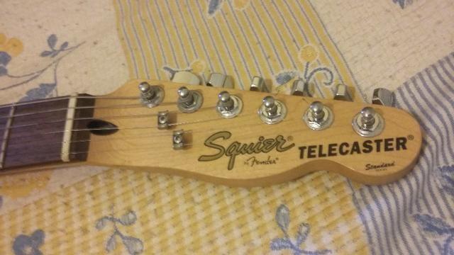 Guitarra Telecaster Squier Antique-Burst - Foto 4