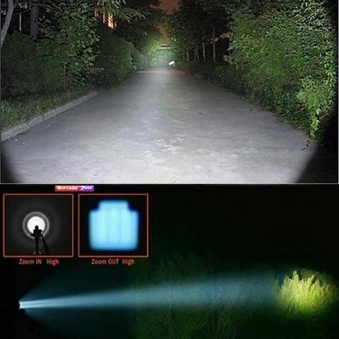 Lanterna Tática/Caça E Pesca/ Modelo: X900 - Foto 4