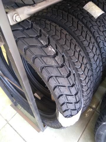 pneu dianteiro para motos xre lander 120/80-18 technic entrega todo rio