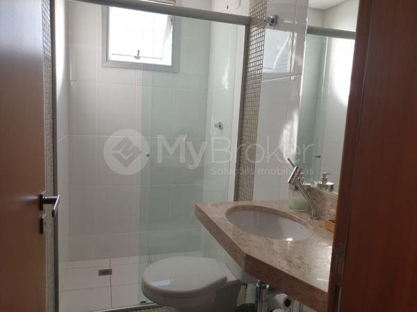 Apartamento com 3 quartos no Residencial Visage Oeste - Bairro Setor Oeste em Goiânia - Foto 14