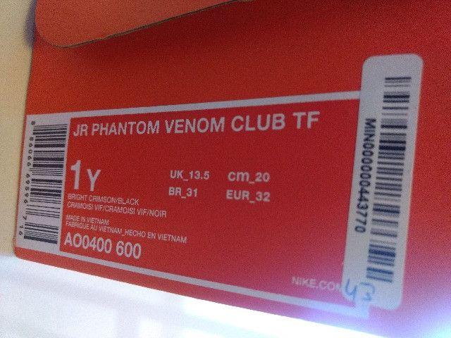 Chuteira Original Nike Phantom Venom Club Tf31 Na Caixa - Foto 5