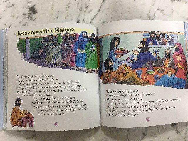 Almanaque Bíblico 2. Infantil usou pouco R$10,00 C. Frio - Foto 4