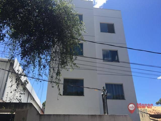 Apartamento à venda, 51 m² por R$ 250.000,00 - Centro - Lagoa Santa/MG
