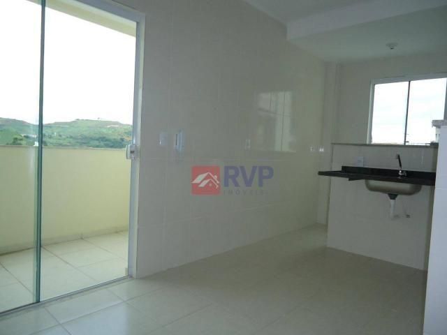Apartamento com 2 dormitórios à venda por R$ 220.000,00 - Milho Branco - Juiz de Fora/MG