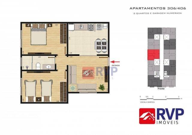 Apartamento com 2 dormitórios à venda por R$ 189.000,00 - Recanto da Mata - Juiz de Fora/M - Foto 17