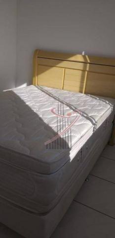 Apartamento com 1 dormitório para alugar, 48 m² por R$ 1.050,00/mês - Centro - Foz do Igua - Foto 14