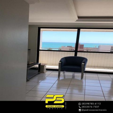 Apartamento com 3 dormitórios à venda, 147 m² por R$ 440.000 - Intermares - Cabedelo/PB - Foto 6