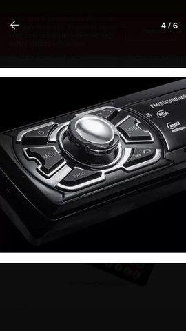 Aparelho De Som Carro Automotivo Bluetooth Pendrive Sd Rádio - Foto 3
