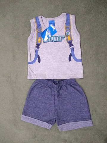 Atacado Lote fechado de roupas infantis. 10 peças - Foto 2