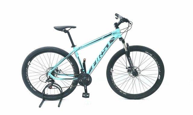 Bicicleta aro 29 first, com cambios Shimano tourney, first mais barata do brasil - Foto 3