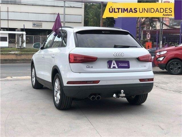 Audi Q3 1.4 Tfsi ambiente gasolina 4pstronic branco 16/17 R$111.300,00 km 95.684*Jéssica* - Foto 7