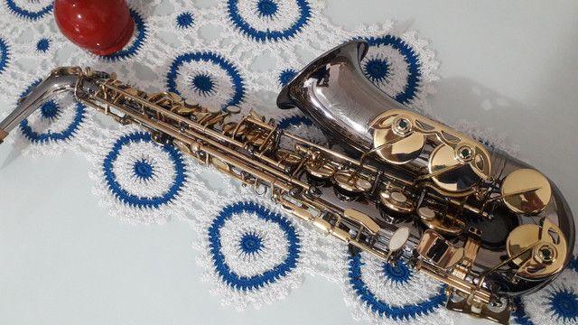SAX saxofone EAGLE SA 500 onix lindo  - Foto 2