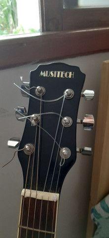Violão Eletroacústico Musitech - usado - Foto 2