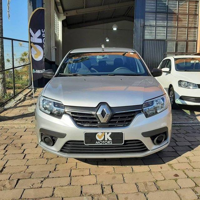 Renault Logan Life 1.0 12v 2020! R$52.500,00 à vista! - Foto 2