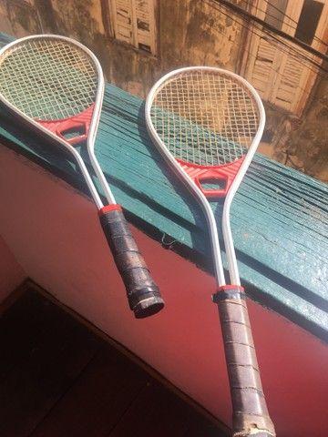 Raquete profissional de tênis PZM - Foto 2