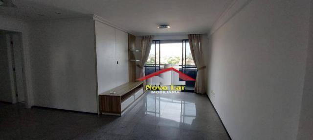 Apartamento com 3 dormitórios para alugar, 113 m² por R$ 1.800,00/mês - Fátima - Fortaleza - Foto 20
