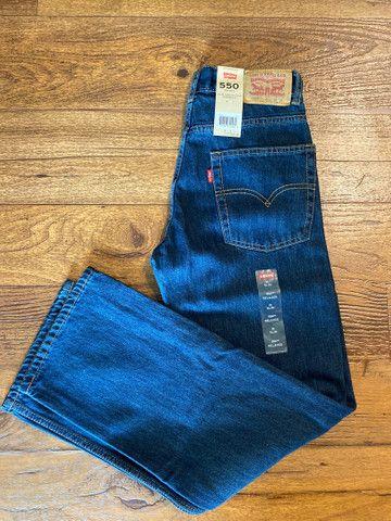 Calça jeans Levi?s infantil e juvenil  - Foto 5