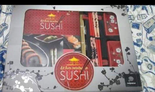 kit sushi imaginarium + livro de receitas - Foto 3