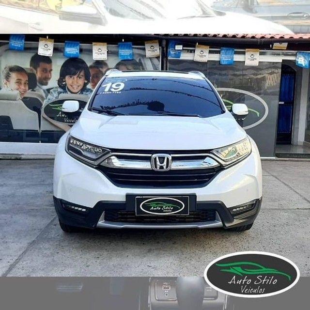 Honda CR-V Touring 2019 Branco Completo