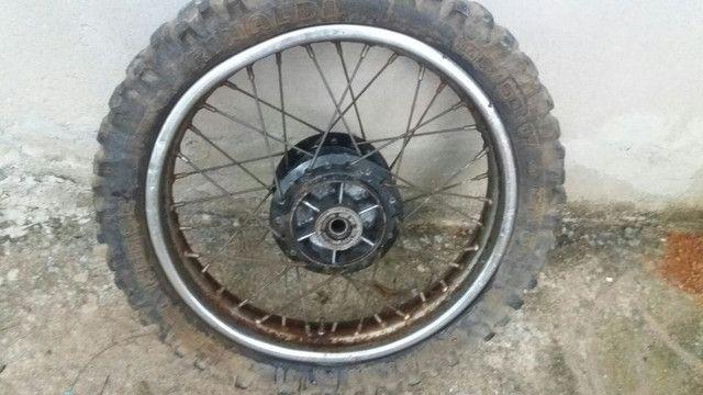 Roda Traseira Xlx 250/350 - Foto 2