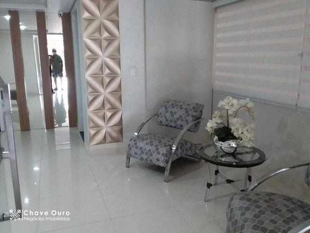 Apartamento com 2 dormitórios para alugar, 95 m² por R$ 1.100,00/mês - Centro - Cascavel/P - Foto 2